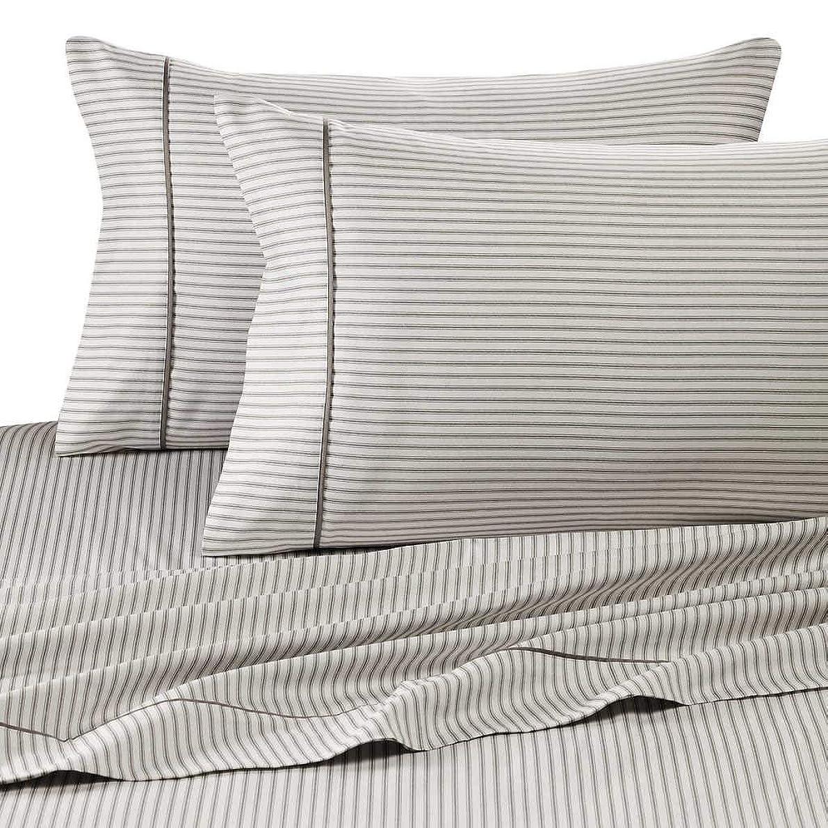 Rajlinen King Size Sheet SET-100% Cotton- 400 Thread Count- 15