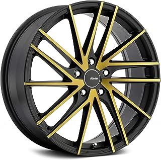 Advanti Racing Turbina Custom Wheel - Matte Black with Bronze Face Rims - 19