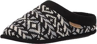 Dearfoams Ashlyn Fairisle Knit Clog womens Slipper