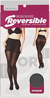 Berkshire womens 4769 Berkshire Reversible Opaque Two Way Control Top Tights Tights