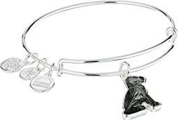 Crystal Dog Bangle