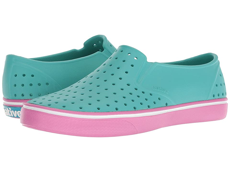 Native Shoes Miles (Pool Blue/Malibu Pink) Athletic Shoes