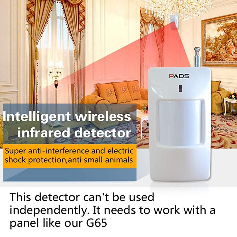 Studyset 2262/315MHz Home Security Alarm System Wireless Passive Infrared Detector PIR Motion Sensor