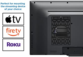 Mount-It! Cable Box Mount Behind TV | Adjustable Universal Mounting Bracket for Streaming Devices, Router, Modem, DVD...