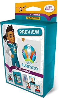 Panini 2601-038 - 6 buste adesive Euro 2020