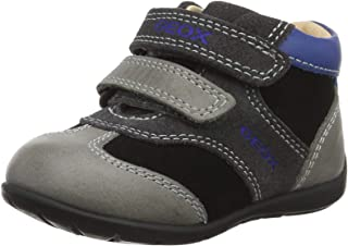 Geox Kids' Kaytan Boy 36 Leather Bootie Sneaker