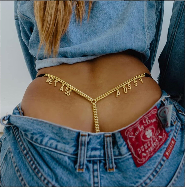 ZHU-CL Bikini Body Chain Chains for Waist Custom Ranking High quality new TOP12 Gold