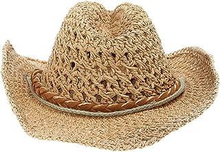 (ビグッド)Bigood 親子 帽子 メンズ ハット テンガロンハット 日よけ 子供 帽子 女の子 キッズ 麦わら 帽子 レディース 折りたたみ アウトドア