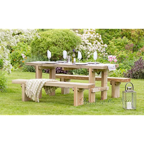 Cool Garden Table And Bench Set Amazon Co Uk Download Free Architecture Designs Scobabritishbridgeorg