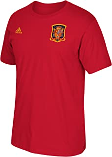 Sergio Ramos Spain World Cup Men's Red Name and Number T-Shirt