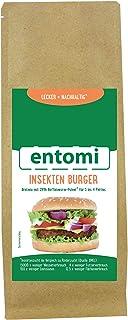 Insekten-Burger Bratmix mit 29% Buffalowurm-Pulver von entomi
