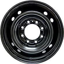 RTX, Steel Rim, New Aftermarket Wheel, 17X7, 8X165.1, 121.1, 25, black finish A2185