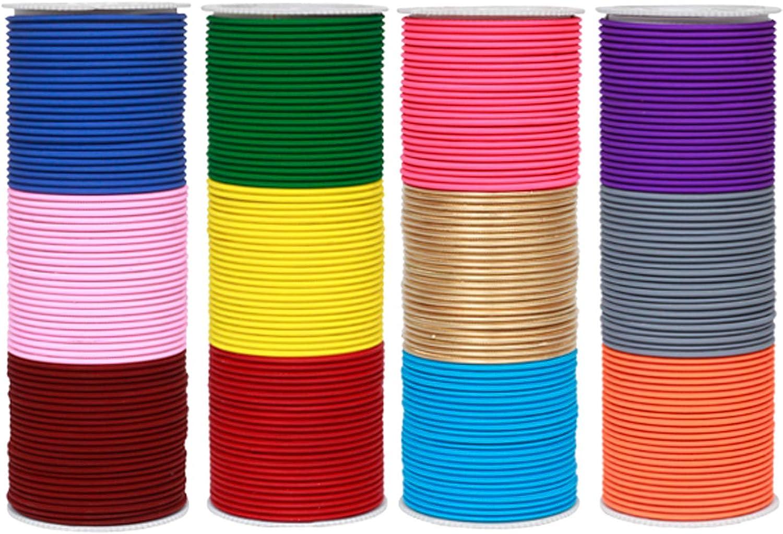 SANARA Traditional Indian Bollywood Wedding Multi Color Bangle Set Traditional 288 Pcs Alloy Metal Bracelets Partywear Arrangement Costume Bangle Box Jewelry