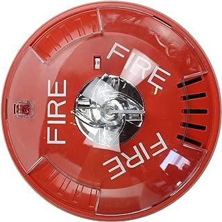Wheelock Hsrc Hsc Series Red Ceiling Mount Fire Alarm Signal Horn Strobe