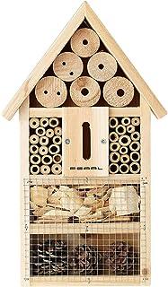 PEARL Insektenhaus: Insektenhotel-Bausatz, Nisthilfe und Schutz für Nützlinge Insektenhotel Bausatz Kinder