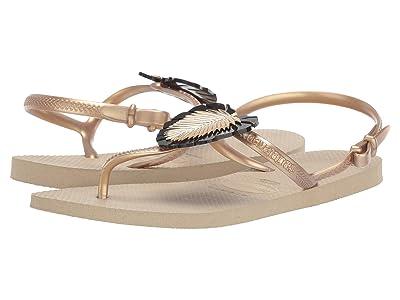 Havaianas Freedom Metal Pin Sandal (Sand Grey) Women