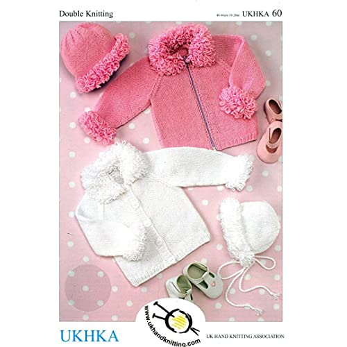 45bb22f8a507 Baby Knitting Pattern for Cardigans  Amazon.co.uk