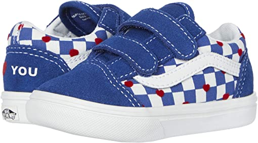 (Autism Awareness) Vans Heart/True Blue