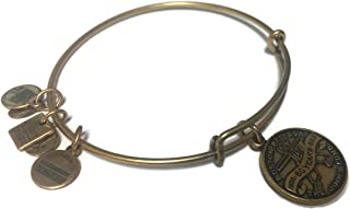 Alex and Ani Jimmy Fund Charm Bangle in Rafaelian Gold, CBD13JFRG