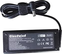 Cloudwind 19.5V 4.7A 90W Replacement for Sony AC Adapter Charger Power Cord Supply Compatible with VAIO VGN-CR240E Laptop.