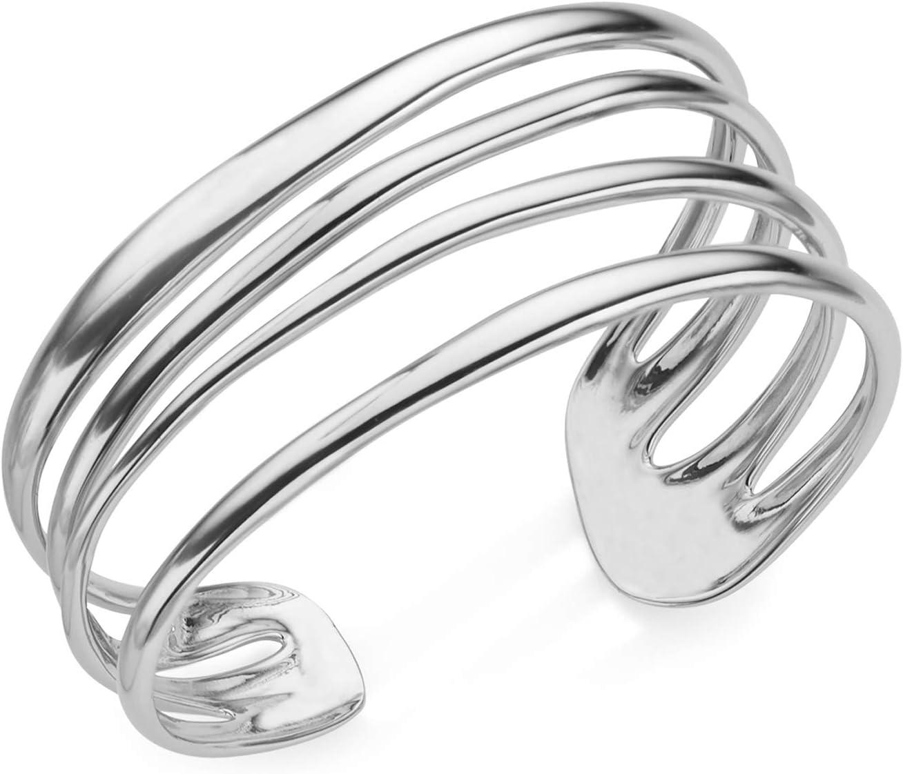 Nambe Multi Band Cuff Bracelet