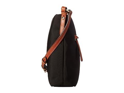 canela amp; nylon Bourke de con Dooney negro de margarita tipo color de letras Portador ribete amp; UwzqwdaZ