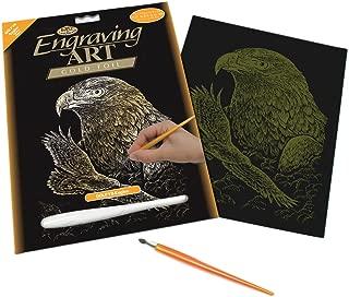 Royal and Langnickel Gold Engraving Art, Eagles