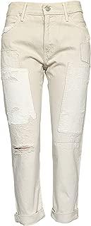 Women's Jeans The Astor Slim Boyfriend Patch Distressed Jean