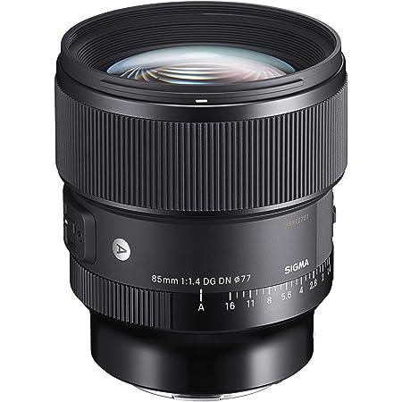 Sigma 85mm F1.4 DG DN Sony E (322965), Black