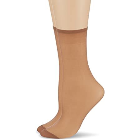Dim Mes Essentiels Tobilleros Calcetines (Pack de 2) para Mujer