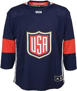 adidas USA 2016 World Cup of Hockey Youth Ryan McDonagh Navy Premier Jersey
