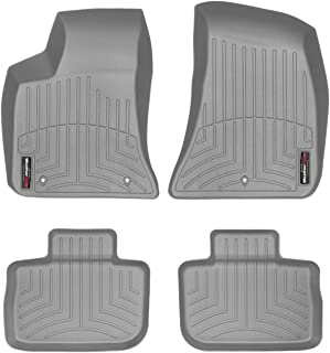 WeatherTech Custom Fit FloorLiner for 300 / Charger - 1st & 2nd Row (Grey)