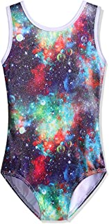 BAOHULU Leotard for Toddler Girls Gymnastics Shiny Athletic Dance Clothes Active Wear