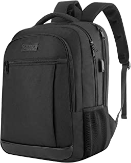 QINOL Travel Laptop Backpack Anti-Theft Business Work Backpacks Bag With Usb Charging Port, Durable Water Resistant 15.6 I...