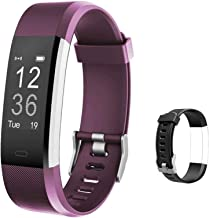 Lintelek Fitness Tracker with Heart Rate Monitor, Activity Tracker with Connected GPS, IP67 Waterproof Smart Band with Cal...