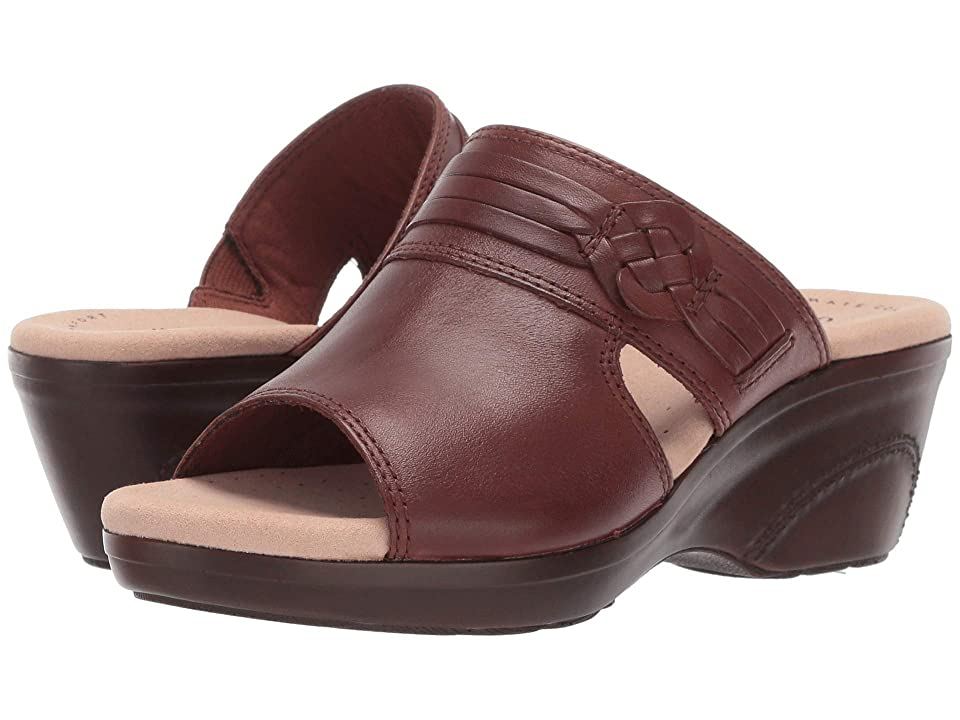 Clarks Lynette Trudie (Mahogany Leather) Women