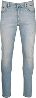 REPRESENT Luxury Fashion Mens M07028PALE Light Blue Jeans | Spring Summer 20