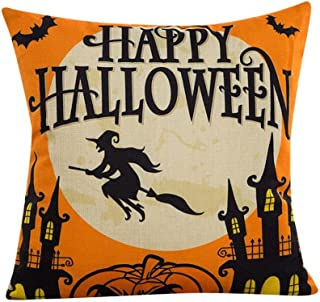 Creazy 2016 Halloween Sofa Bed Home Decor Pillow Case Cushion Cover