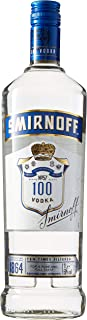 Smirnoff Blue No. 57 Export Strength Premium Vodka 1 x 1 l