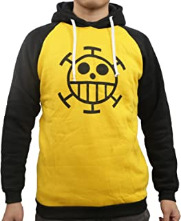 One Piece Sweatshirt Cotton Anime Trafalgar Law Shirt Cosplay Costume