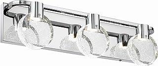 Sponsored Ad - Citymoda Vanity Lighting Fixture 3lt Modern LED Vanity Lights for Bathroom Wall Light Fixture Over Mirror, ...