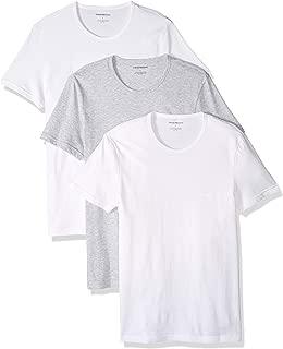 Men's Cotton Crew Neck T-Shirt, 3-Pack