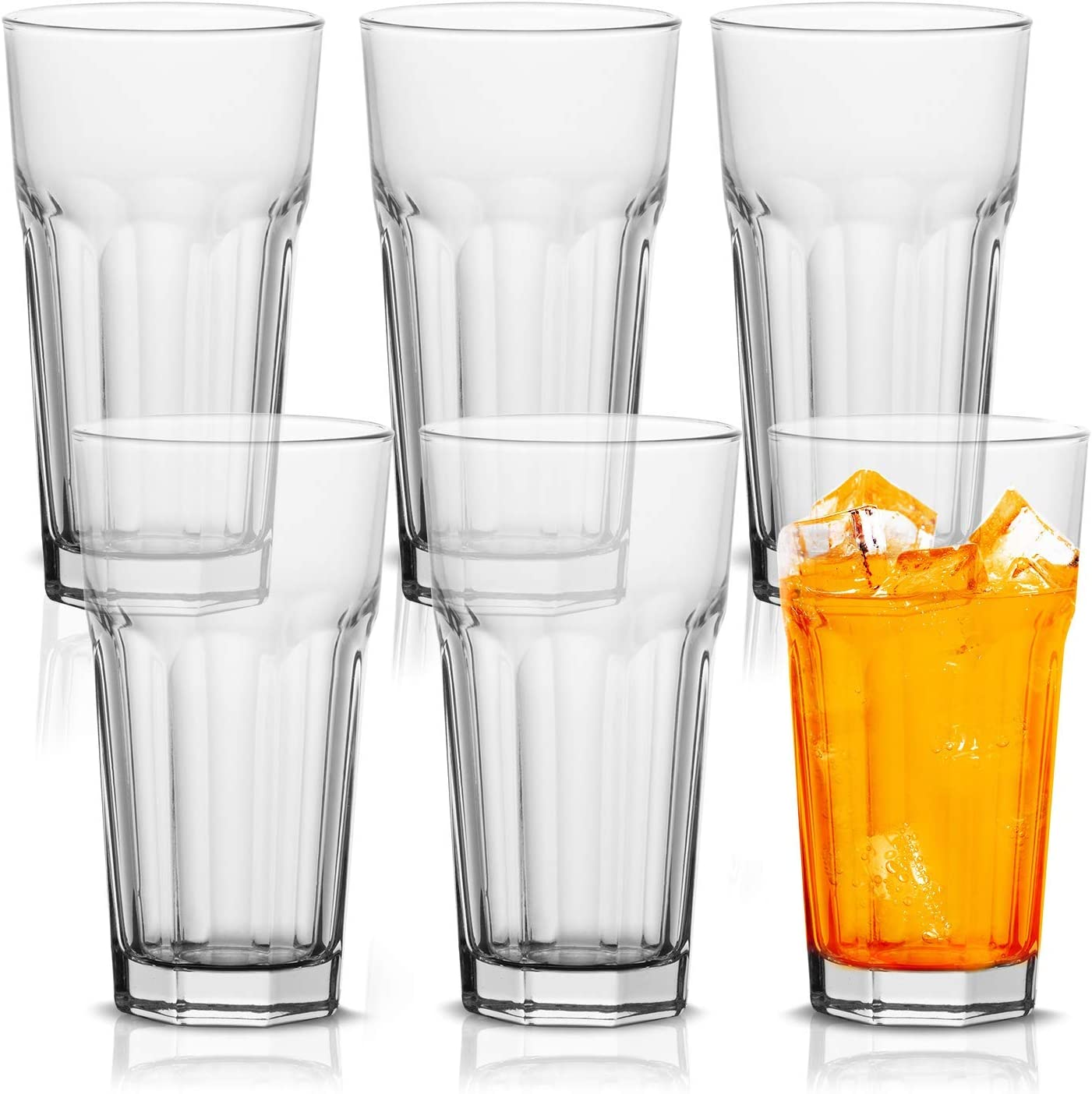 Vikko 11 Ounce Drinking Glasses: Glass Durable Thick Max 68% OFF Kitchen and Under blast sales