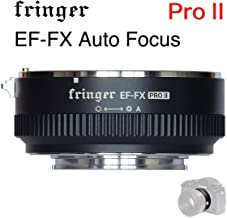 Fringer EF-FX PROII Auto Focus Mount Adapter Built-in Electronic Aperture for Canon EOS Tamron Sigma Lens to Fujifilm FX Mirroless Camera X-T3 XH1 X-E3 XT20 X-Pro2 X-T2 X-A X-E1 X-M1 XT1 X-T30