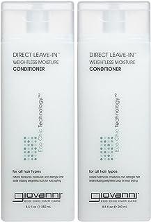 Giovanni Direct Leave In Treatment Conditioner, 8.5 oz, 2 pk