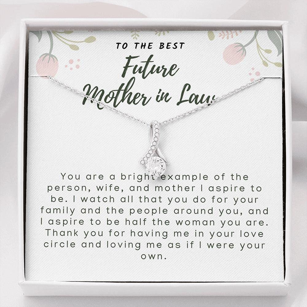 Mother in Law Fresno Mall Gift Wedding the of free Groom Futur Necklace