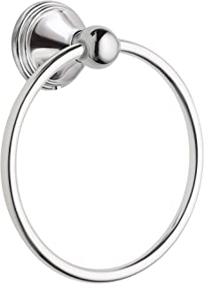 Best Moen DN8486CH Preston Collection Bathroom Hand Towel Ring, Polished Chrome Review