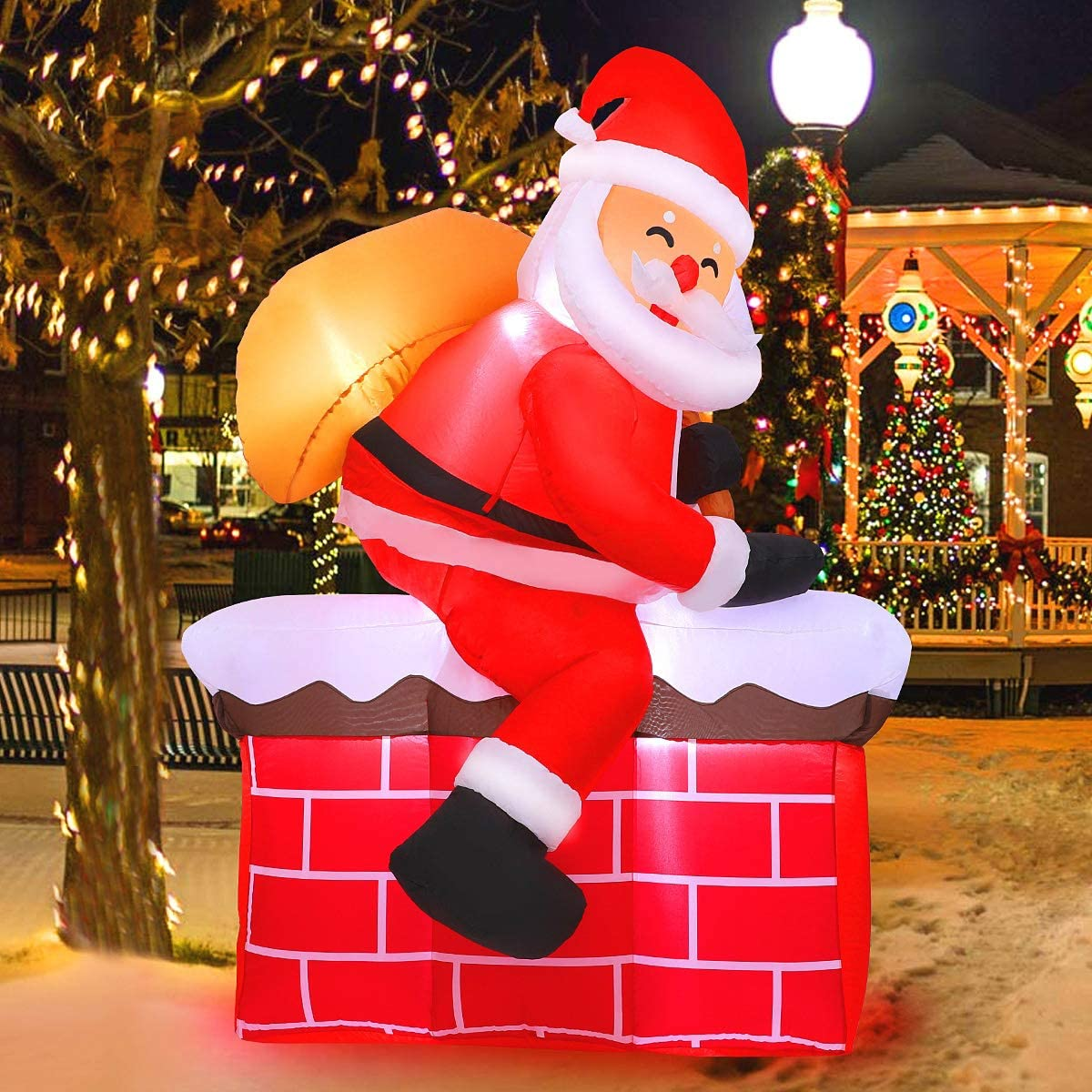 Cheap bargain MAOYUE Christmas Inflatables Long-awaited 5Ft C Outdoor Decorations