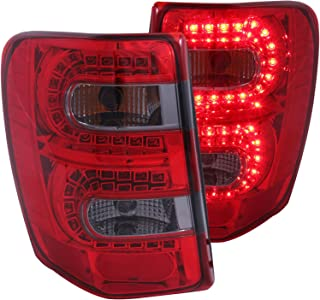 Anzo USA 311180 Red/Smoke LED Tail Light for Jeep Grand Cherokee