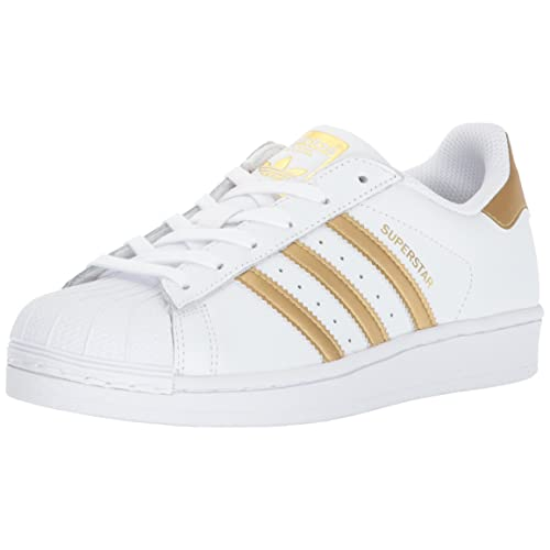White and Gold adidas: